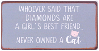 Magnet - Diamonds are a girl's best..